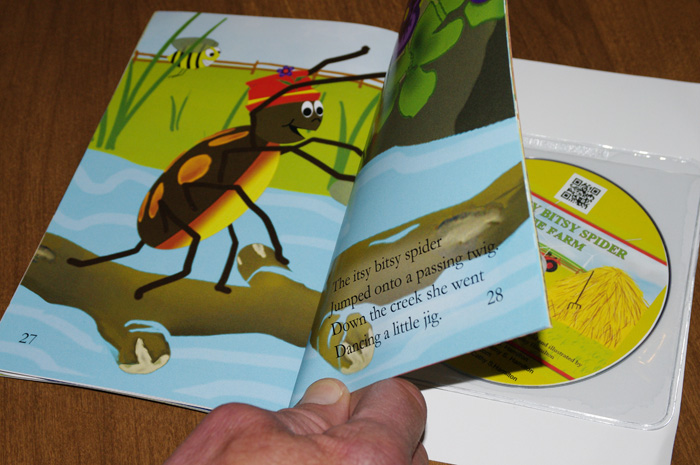 The Itsy Bitsy Spider On The Farm Book/DVD Combo